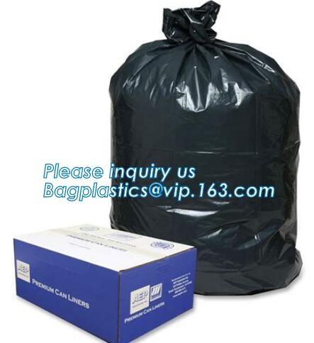 100 HDPE Garbage Bags 18l RUBBISH BAG BIN LINERS FIT Bags Transparent AG-260