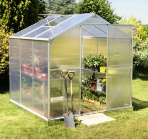 China Small Portable Polytunnel DIY Greenhouse , Eco Friendly Garden Walk-in Green House For Plant on sale