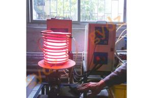China China Manufacture 40KW High Frequency Induction  Heater For Bolt Rivet Forging on sale