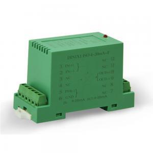 China DIN Rail Mounted 4 to 20ma Passive Loop Powered Isolator Distributor DIN1x1 ISO 4-20mA-F on sale