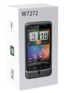 China Gray Android 2.3 Double Sim Card Wifi Enabled Mobile Phones With 32G TF card on sale