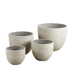 China 2014 high quality outdoor GRC flower pots on sale