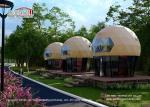 Flame Retardant NFPA 58m2 Luxury Dome Glamping Tents