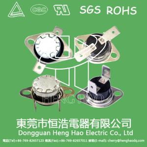China Snap Action KSD301 Temperature Switch / Bimetal Disc Thermostat For Water Dispensers on sale