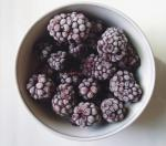 Fresh Delicious IQF Frozen Fruit , Grade A Quick Freezing Blackberry