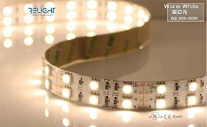 China 5050 Double Row 3000K 12V Flexible LED Strip Lights With CE / RoHs Listed on sale