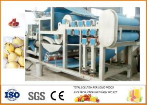 China 20T/H Apple Juice Production Line SUS304 Machinery on sale