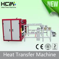 Touch Screen Oil Heating Rotary T Shirt Transfer Press Machines With Digital Controller