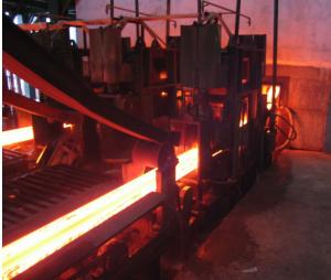 China R4M 2S Continuous Casting Of Steel Billets Machine , Rigid Dummy Bar on sale