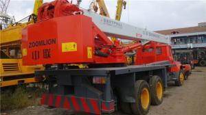 China used zoomlion 12ton used truck crane on sale