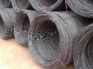 China PC Wire Rod 30MnSi Hot Rolled Wire Rod for Pre-stressed Concrete Steel Bar Wire Rope PC Wire Rod on sale