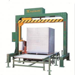 China manual pallet stretch wrapping machine and film stretch wrapper on sale