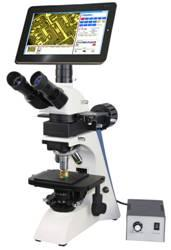 China DMC-1500 10.1 inch LED Capacitance Touch Screen Metallurgical Digital LCD Microscope on sale