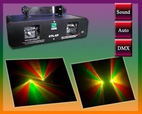 China D-150RG dual heads Magic red and green beam laser light effect for Disco,Clubs,KTV,Pub on sale