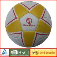 PVC leather Soccer Ball for children play games in Sunny / Cloudy day outdoor indoor