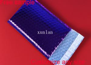 China Light Weight Poly Bubble Wrap Packaging Envelopes , Bubble Cushioned Mailers on sale