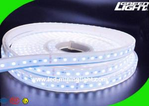 China Cool White Waterproof LED Flexible Strip Lights For Underground Mines Safety Lighting on sale