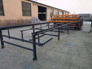 China mesh width 2.5m Weld speed 70 Times / min for fence panel Wire Mesh Welding Machine on sale
