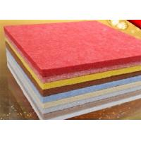 Theater Polyester Fiber Acoustic Panel with Needle Punched