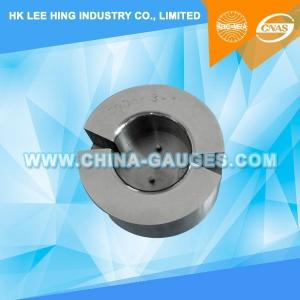China IEC60061-3: 7006-3-1 Acceptance Gauge for B22d Caps Intended for Automatic Wire Threading on sale