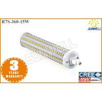 15w SMD2835 R7S LED Corn Bulb Double End Base Aluminum 360 Degree Beam Angle