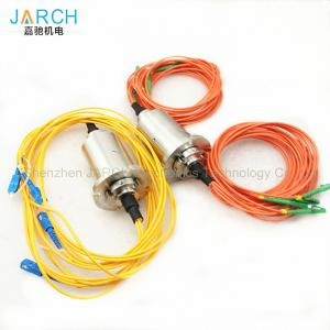 China 4 Channel 1000rpm Fiber Optic Rotary Joint FORJS on sale