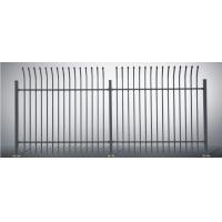 China High Strength Villa Park Ornamental Aluminum Fence , Metal Garden Fence on sale