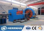Marine Flexible Pipeline Framework Skeleton Layer Stainless Steel Tape Interlock Armouring Machine
