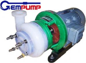 China Fluorine Chemical Centrifugal Pump for pesticides / Dye industry pumps on sale