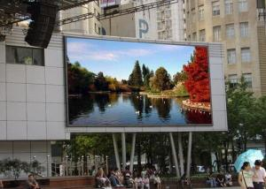 China 12MM Pixel Pitch Outdoor Advertising LED Display Screen EPISTAR Chip SMD3535 on sale