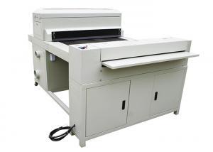 China Cardboard Hardcover Photo Book Binding Machine For Photo Paper / Board on sale