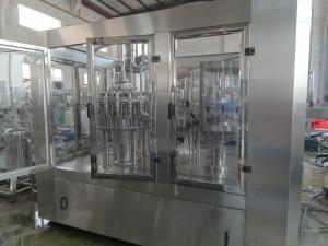 China Fully Automatic Litchi Juice Packaging Machine , PET Plastic Bottle Beverage Filling Machine on sale