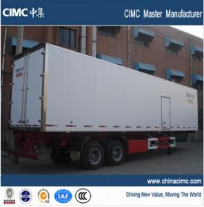 China refrigerated cargo van trailer on sale