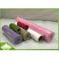 100% PP Virgin Spunbonded Non Woven Perforated Fabric Small Roll For Table Cloths