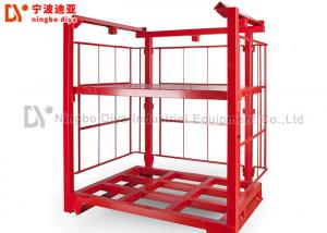 China Red Color Heavy Duty Pallet Racks , Warehouse Storage Racks 1000-1500kg Loading Capacity on sale