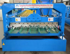 China Aluminium Metcopo Step Tile Roof Sheet roll forming line , Rollform Equipment on sale