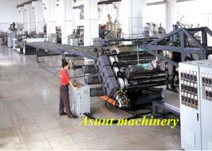 China Customized Automatic Plastic Sheet Extrusion Machine PP / PE for File on sale