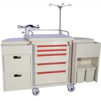 Mobile Nurse Medical Trolleys For Emergency Nursing Workstation