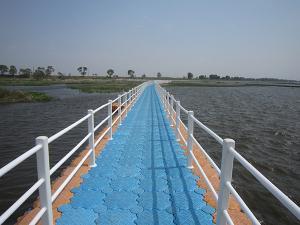 Quality Pontón plástico del HDPE para el puente plástico for sale