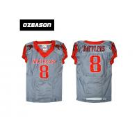 Factory price new design youth fast drying american football jersey, soccer uniform