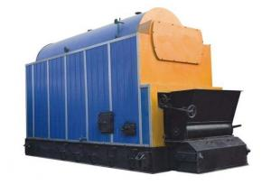 China Eco Friendly Biomass Steam Boiler , Wood Burning Furnace 3.04 M2 Stoker on sale
