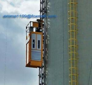 China 500kg New Design Model SC50 Building Hoist for Cranes Tower with Cable Trolley on sale