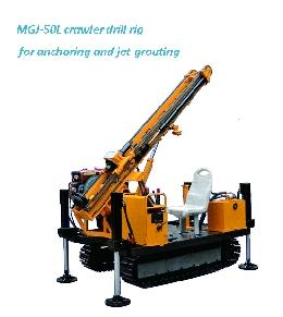 China MGJ-50L crawler drill rig for anchoring and jet-grouting on sale