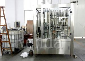 China Small Scale Bottle Juice Filling Machine 4000 BPH 1.5KW 380V Beverage Filling Machine on sale