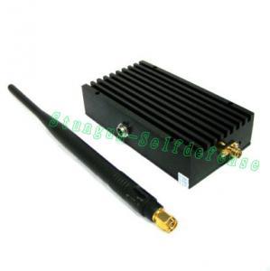 Quality Hand Held Walkie Talkie radio Jammer / interphone wireless transceiver signal for sale