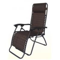 Weather Resistance Metal Patio Furniture Folding Sun Zero Gravity Chair With Pillow