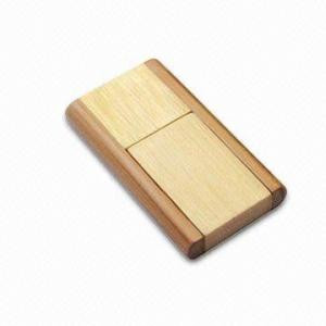 China Laser Engraved Logo Wood USB Drive 4GB 8GB 16GB 32GB 64GB on sale