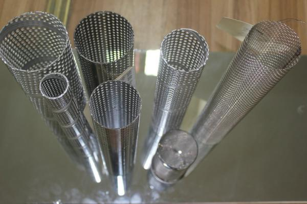316 Stainless Steel Wire Mesh Filter Cylinder For Water
