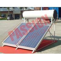 300L No Leakage Solar Panel Heater , Sun Power Solar Water Heater Flat Plate