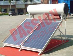 China 300L No Leakage Solar Panel Heater , Sun Power Solar Water Heater Flat Plate on sale